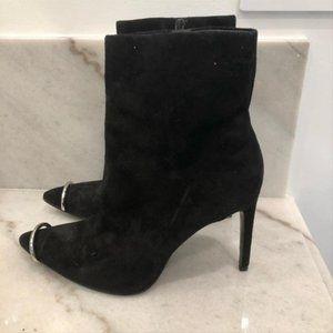 Alexander Wang Metal Captoe Boots/Booties